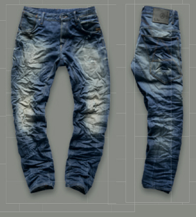 G-star A-Crotch Tapered Dekay Denim