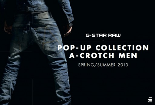 Gstar RAW A-Crotch Pop-up Collection Studio25 Tampere