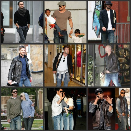 Celebrities wearing PRPS