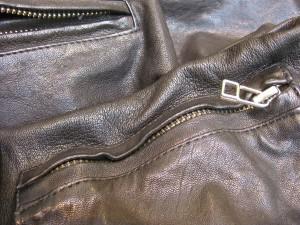 Tigerin nahkatakki Rikki Leahter jacket