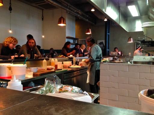 Huikea kahvila ja aamupalapaikka Ozone Lontoo