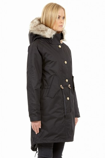 Black Elvine Fishtail Parka Inchstore Tampere