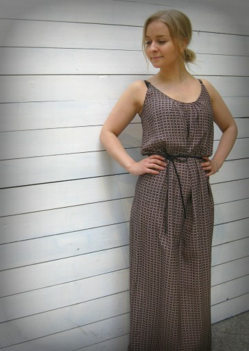 Maison Scotch Safari Maxi Dress 179