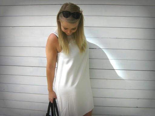 Samsoe&Samsoe valkoinen mekko INCH